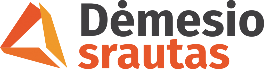 demesio srauto logo